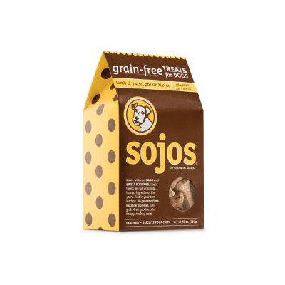 Grain-Free Dog Treats Flavor: Lamb and Sweet Potato, 10 oz