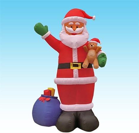 Amazon.com: 12 foot celebración de Papá Noel de Papá Noel ...