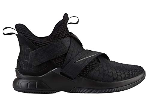 d273076de636f Nike Lebron Soldier XII SFG Mens Basketball-Shoes AO4054-003 11 -  Black Black-Black