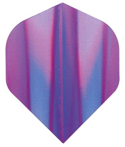 Darts Flights Standard Std Black Blue Swirl 75 Micron Free P/&P