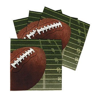- FOOTBALL LUNCHEON NAPKINS (16 NAPKINS)