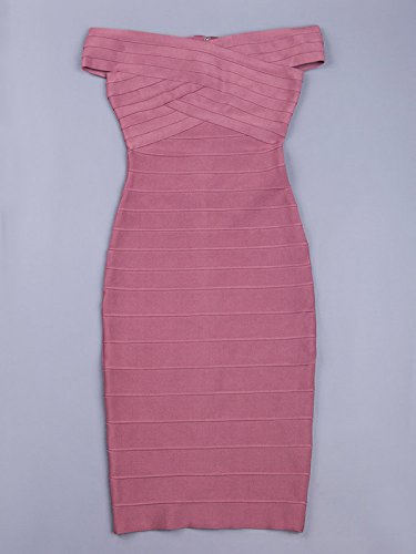 HLBCBG Damen Kleid violett violett 36