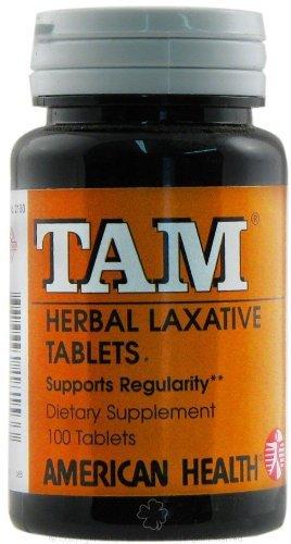 American Health Tamari Natural Herb Laxative 100 tab ( Multi-Pack) by American Health
