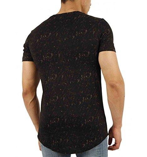 Gov denim Herren T-Shirt schwarz schwarz
