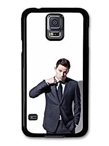AMAF ? Accessories Channing Tatum Wearing Suit Photoshoot case for Samsung Galaxy S5