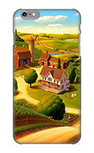 Guidepostee High Quality Summer On The Farm Case For Iphone 6 Plus / Perfect Case For Lovers
