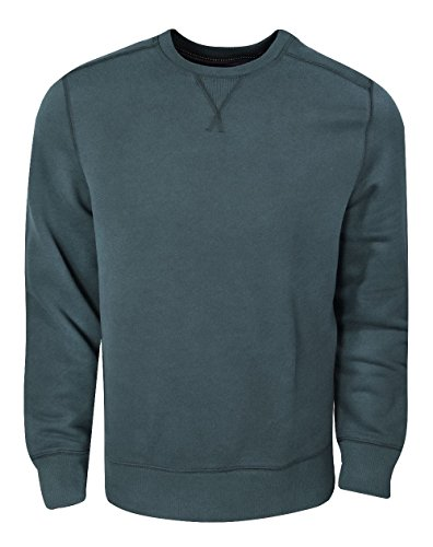 G.H. Bass & Co. Men's Mountain Wash Fleece Crew Long Sleeve Sweatshirt