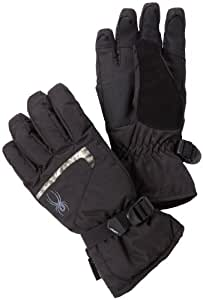 Spyder Men's Traverse Ski Glove, Black/Black/Slate, Large