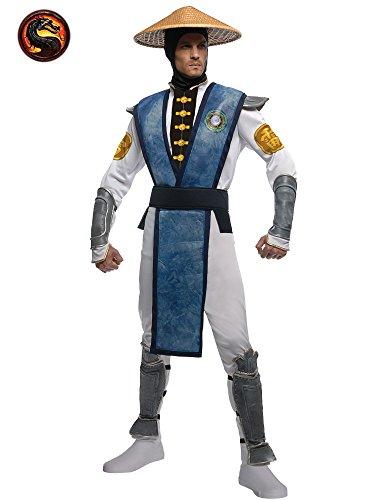 [Rubies Costume Co R880991-L Mens Mortal Kombat Raiden Costume Size Standard] (Rubies Costume Mortal Kombat Raiden Costume)
