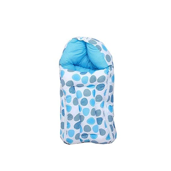 Baby Fly Toddylon Baby Sleeping Bag (0-6 Months) (Blue Polka)