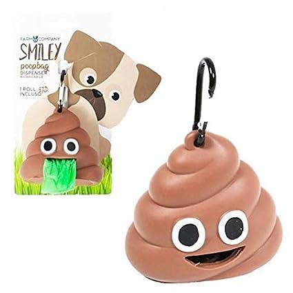 Farm Company Smiley POOPBAG - Portabolsas de Goma + Rollo de ...