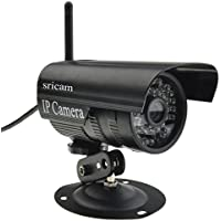 Sricam IP Camera Wireless&Wired Outdoor Waterproof Mini Bullet Surveillance Camera 1280720P H.264 Night Vision