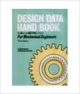 Mechanical Design Data Book Pdf