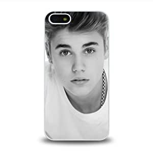 Pop Star Justin Bieber Cool Design #1 Matt Feel Hard Plastic iPhone 5 Case Protective Skin Cover