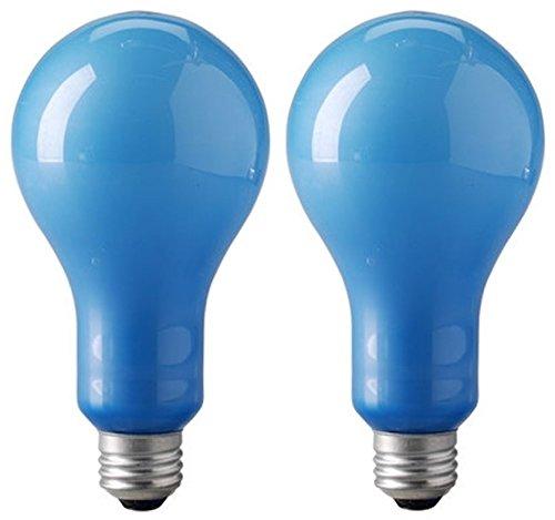 Eiko EBW 120v/500w Blue Inside Frosted Ps-25 E26 Base Photoflood Bulb 2-bulb