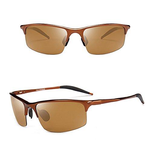 de Gafas Deportes polarizador las sol SSSX de que de A al pesca Protección C conducen la aire Color del ULTRAVIOLETA GYYTYJ libre hombres sol los de gafas Pq5z5R