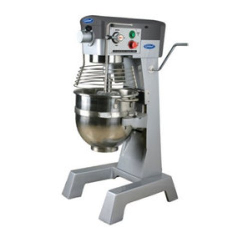 General Commercial Planetary Mixer 30 Quart 3 Speed Gear Drive 2 Hp Motor 120V Model Gem130 by General