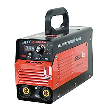 iBELL Inverter ARC Welding Machine (IGBT) 250A with Hot Start,Anti-Stick,Arc Force,Power Boost Functions- 1 Year Warranty 5