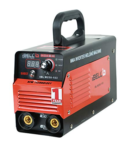 iBELL Inverter ARC Welding Machine (IGBT) 250A with Hot Start,Anti-Stick,Arc Force,Power Boost Functions- 1 Year Warranty 1