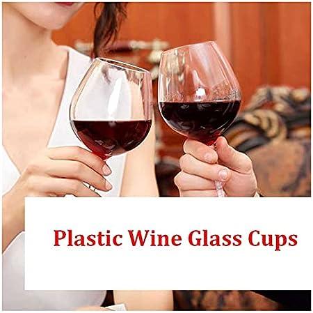 LHAXL Helado Scoop 480ml Copa de Vino Transparente Botella de Vino irrompible Copa de Vino Vidrio de Vino de Vino Bar de Vidrio de Vino de Vidrio de Vidrio Cuchara (Color : 4pcs)