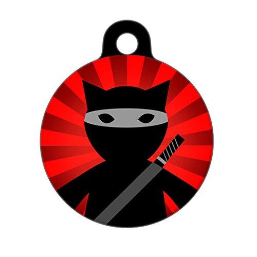 Pet ID Tag Etiqueta de identificación para Mascotas Ninja ...
