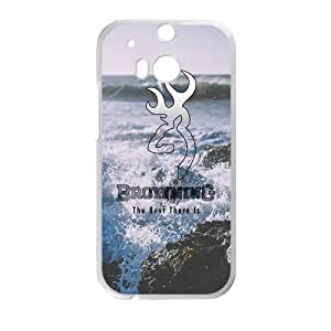 Canting_Good Browning Seaside scenery Custom Case shin for HTC One M8 (Laser Technology)