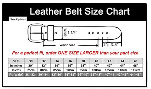 64a1d01abaa Men s Genuine Leather Dress Belt with Premium Quality - Classic   Fashion  Design for Work Business