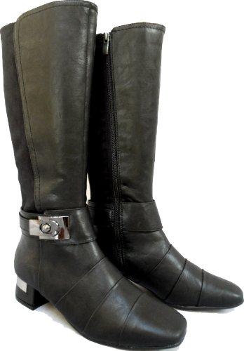 Marco Barbosa Tozzi standard à large extensible Bottes - Noir - Noir mat, 39.5