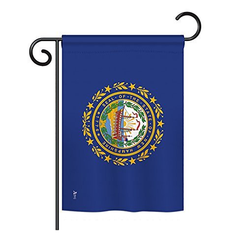 Americana G142530 New Hampshire States Impressions Decorative Vertical Garden Flag 13