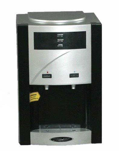 Crystal Quest CQE-WC-00908 Turbo Ultrafiltration Countertop Water Cooler