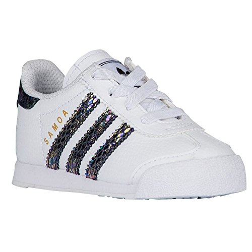 adidas Originals Samoa I Snake Fashion Sneaker (Infant/Toddler), 5K US Toddler - Kid Snake Girl Sneaker