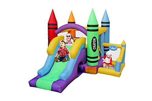 BestParty Kingdom Castle Inflatable Bounce Bouncer Slide ...