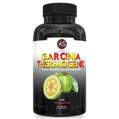 Angry Supplements Garcinia Cambogia Thermogenic Weight Loss Pills for Women & Men - Natural Metabolism Booster - Yerba Mate, Green Tea, & Guarana for Ketogenic Diet - Best Starter Gift