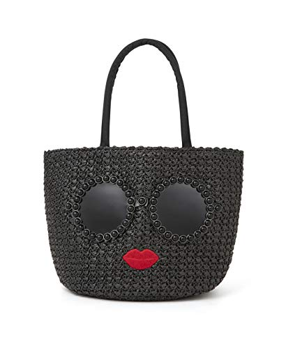 a-jolie PEARL BASKET BAG BOOK BLACK 画像 C