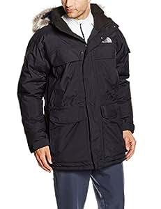 North Face McMurdo Parka Down Jacket Medium TNF Black