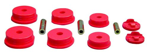 Prothane 13-1902 Red Motor and Transmission Mount Insert Kit