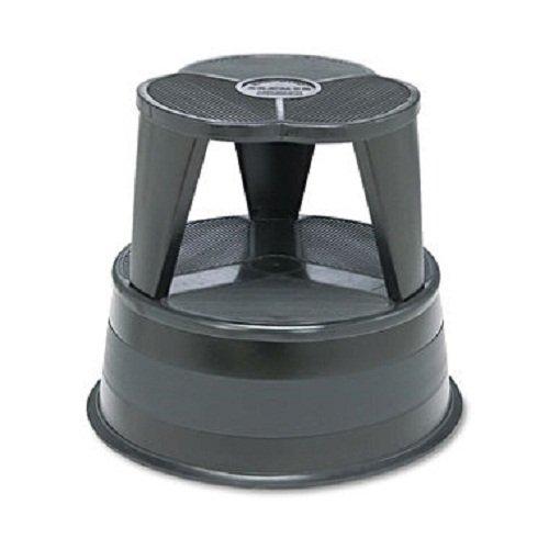 Cramer LLC Kik Step 1001 Stool 500 Lb Capacity 14 Inch w/Slip Resistant Non-Skid Base-Black