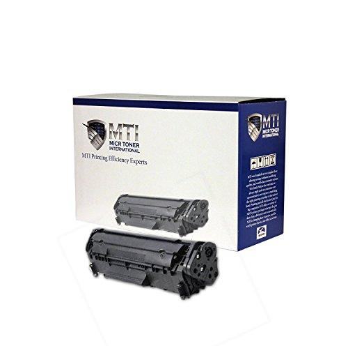 MTI MICR 12X (HP Q2612X) Compatible MICR Cartridge for HP LaserJet 1010, 1012, 1015, 1018, 1020, 1022, 1022n, 1022nw, 3015, 3020, 3030, 3050, 3052, 3055, M1319, M1319f by MICR Toner International