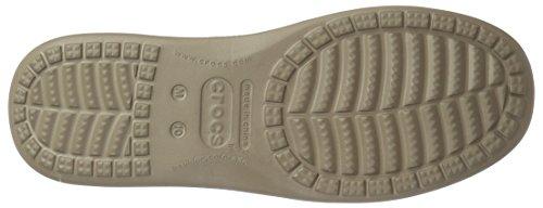 Zapatillas Hombre de Crocs Luxe Marrón Santa Lona M 2 Cruz T8TqRnxSX