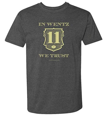 - 36 and Oh! in Wentz We Trust Gray Short Sleeve T-Shirt - Comfortable (X-Large)
