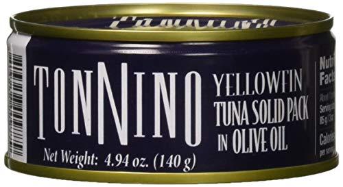 Tonnino Tuna Olive Oil Can, 4.90 oz