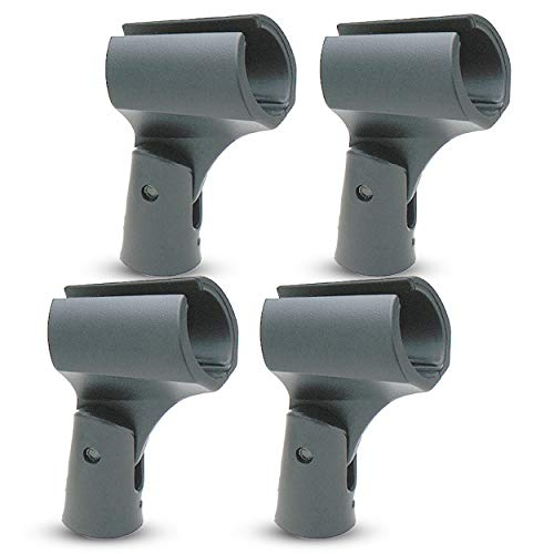 Performance Plus MH2R-4 Indestructible Shure Style Standard Mic Holders - Buy 3 Get 1 Free! - Standard Mic Holder