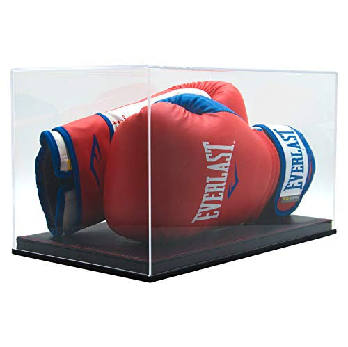 Combination of Life Acrylic Full Size Double Boxing Gloves Display Case ()