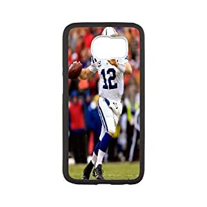 High Quality Phone Back Case Pattern Design 13Andrew Luck,NCAA's Big Manning Pattern- For Samsung Galaxy S6