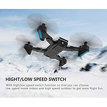 3D Flips Drone with 1080P HD Camera Live Video Headless Mode,Trajectory Flight,Altitude Hold RC Helicopter
