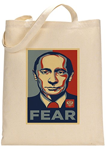 Fear Made President Putin Tote Custom Bag qF56wz5T