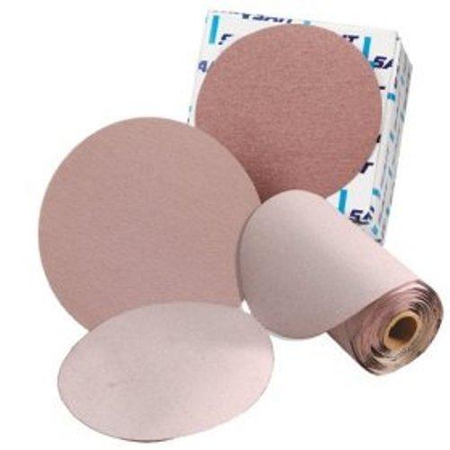 Premium United Abrasives 400-Pack SAIT 37908 4S//4V 6-Inch PSA 320C Grit Stearated Aluminum Oxide Disc Roll
