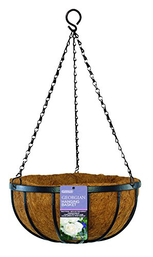 Gardman R212 Georgian Hanging Basket with Coco Liner, 16