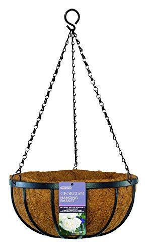 Gardman R212 Georgian Hanging Basket with Coco Liner, 16''