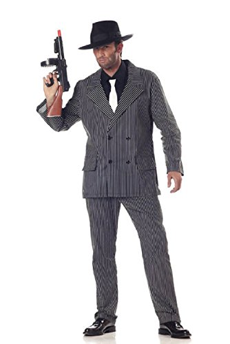 Men Gangster Mafia Adult Halloween Costume